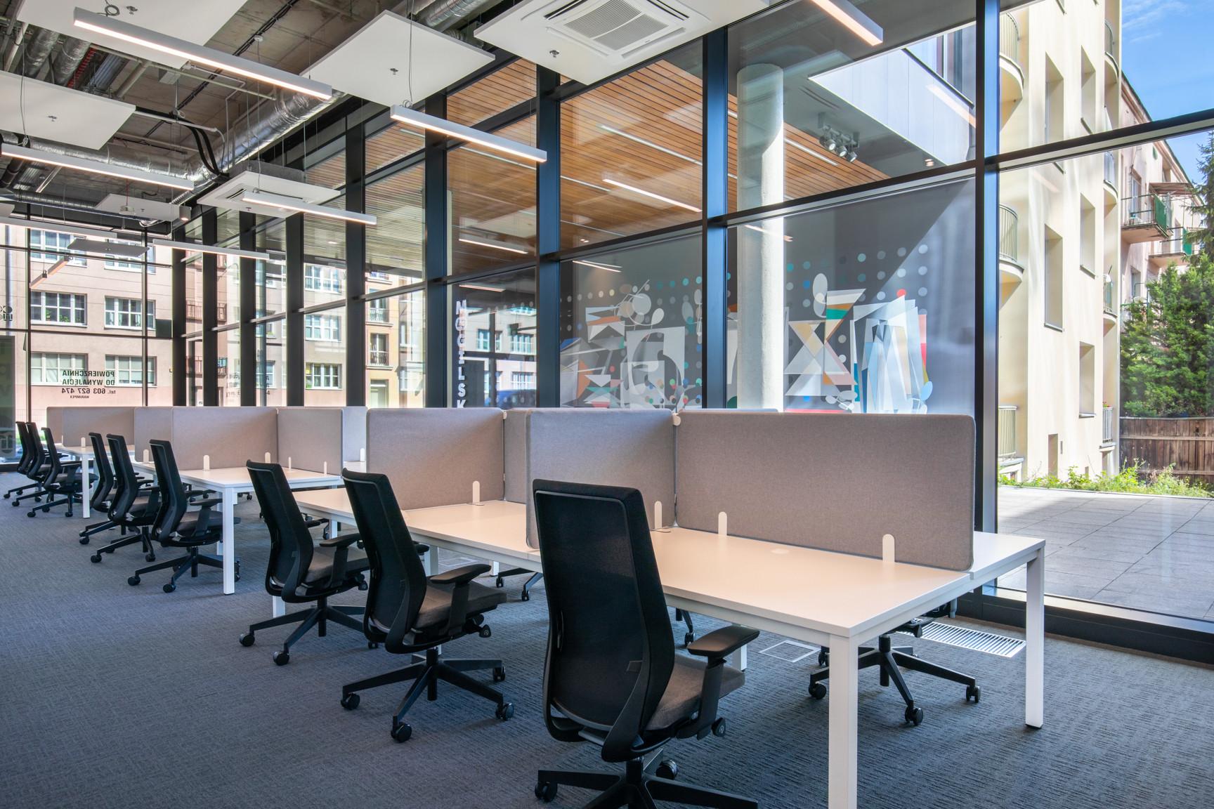 Fotografia wnętrz biura