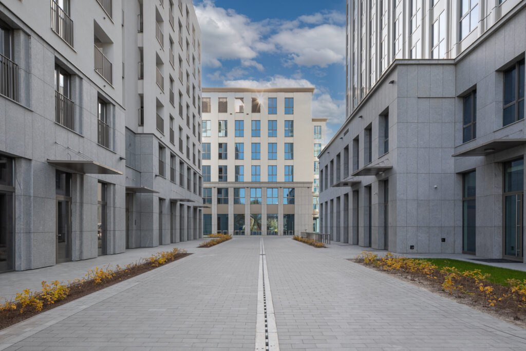Architektura w Krakowie budynków Unity Centre