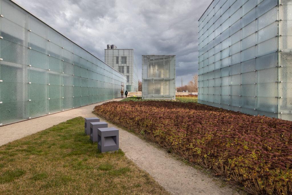 Sesja zdjęciowa architektury przy Muzeum Śląskim w Katowicach