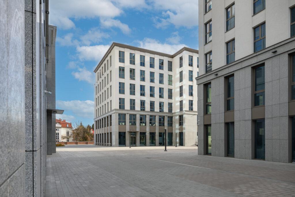 Fotografia architektury budynków biurowych w Krakowie
