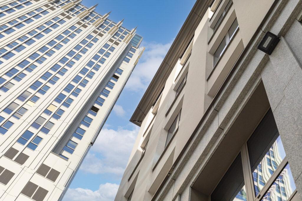 Biurowce Unity Centre w Krakowie przy Rondzie Mogilskim